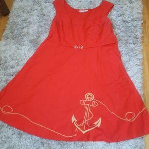 EShakti Nautical Darling Dress